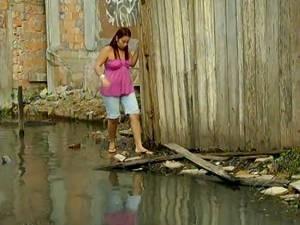 Passagem José Leal Martins - Elaine (Foto: Reprodução/TV Liberal)