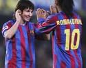 Ronaldinho lembra de perda do pai e conselho a Messi em carta comovente