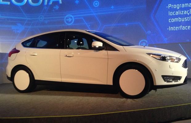 Ford revela Focus 2016 em evento de tecnologia (Foto: Marcus Vinicius Gasques / Autoesporte)