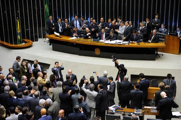 Plenário da Câmara aprova projeto que acaba com 14º e 15º salários para parlamentares (Foto: Laycer Tomaz/Agência Câmara)
