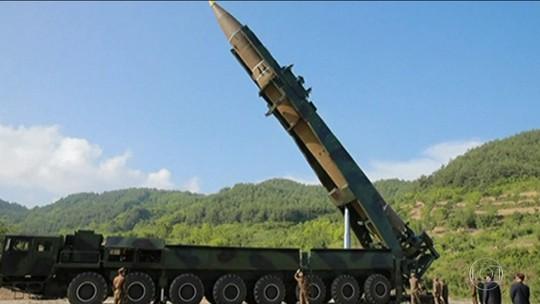 EUA confirmam: Coreia do Norte  testou míssil que alcançaria Alasca
