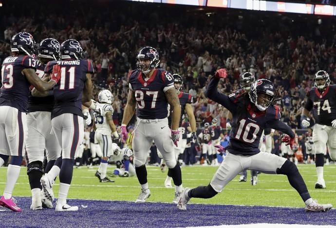 Houston Texans tem ótimo retrospecto atuando em seu estádio nesta temporada da NFL (Foto: Getty Images)