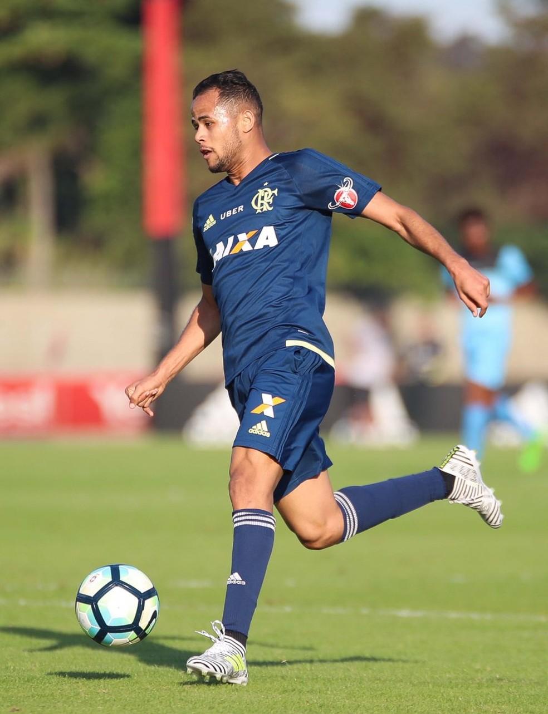 Geuvânio está mais perto de estrear pelo Flamengo (Foto: Gilvan de Souza/Flamengo)