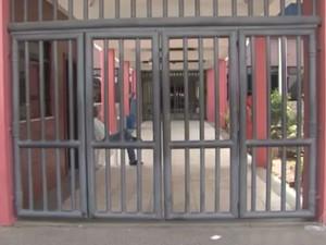 Escolas estão sem aulas desde a quarta-feira (15) (Foto: Reprodução/TV Subaé)
