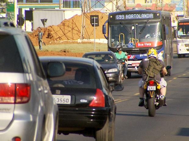 Número de furtos de veículos em Hortolândia motiva estudo para tentar coibir violência (Foto: Reprodução EPTV)