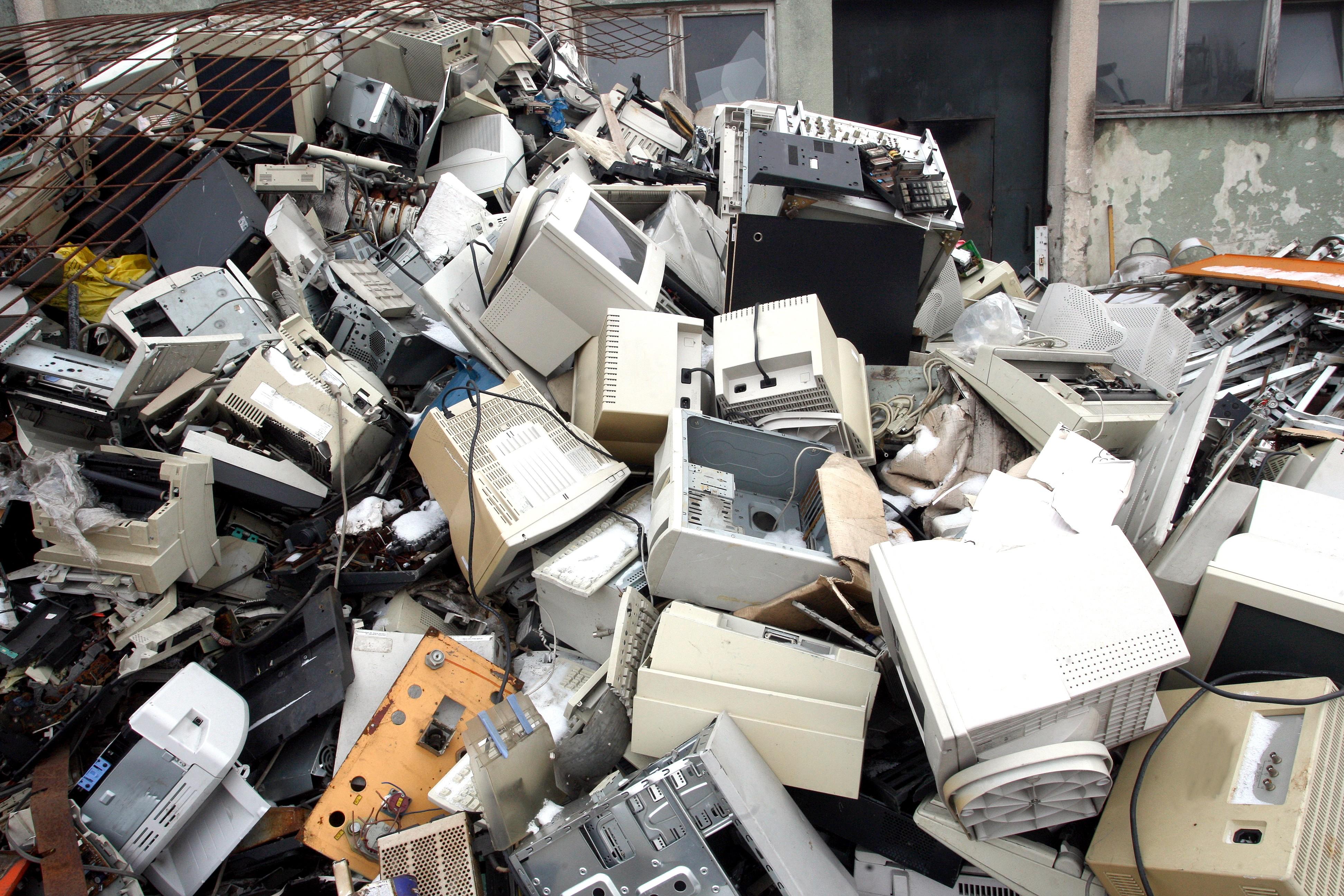 lixo eletrônico (Foto: Thinkstock)