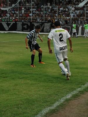 Botafogo-PB x Treze, Campeonato Paraibano 2013 (Foto: Larissa Keren / Globoesporte.com/pb)