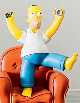 Homer Simpsom,19 cm, R$ 119, na Arte em Miniatura (Foto: Ilana Bar)