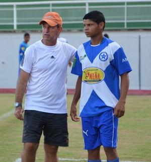 Técnico Paulo Capão, da Amax (Foto: Quésia Melo)