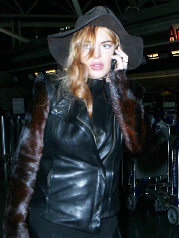Lindsay Lohan (Foto: X17/Agência)