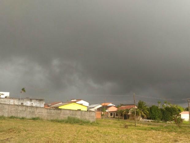 Tempo Acre Rio Branco (Foto: Tácita Muniz/G1)