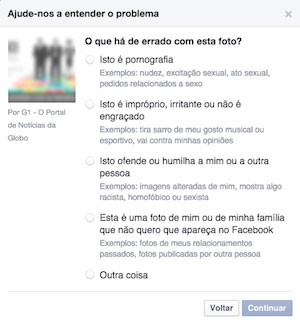 Como denunciar conteúdo no Facebook Blog Ronaldo Prass