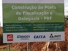 Obras do novo posto da PRF já começaram em Uberaba