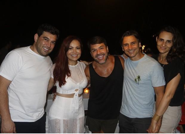 Lele Andriani, Sol Almeida, Danilo Faro, Murilo Rosa e Fernanda Tavares (Foto: Foto:  Divulgação)