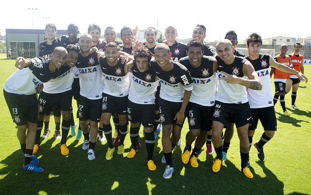 Corinthians treino (Foto: Daniel Augusto Jr/Ag. Corinthians)