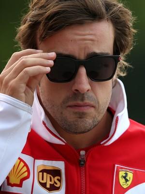 Fernando Alonso no GP da China de 2014 (Foto: Getty Images)