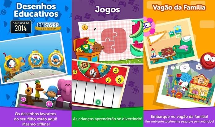 Games infantis para toda a família se divertir (Foto: Divulgação)