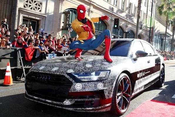 Audi A8 aparece na premiere do novo filme do Spider Man (Foto: Audi)