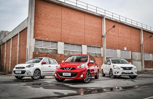 Nissan lança pacotes Colors e Pack Plus para March e Versa (Foto: Divulgação)