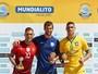 Onze vezes Brasil! Seleção é campeã invicta do Mundialito ao bater Portugal