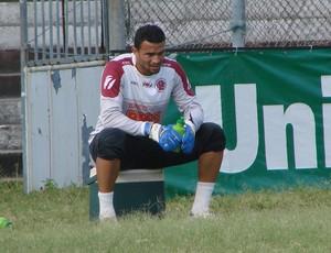 Goleiro Felipe, Desportiva Ferroviária (Foto: Bruno Marques/Globoesporte.com)