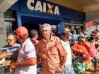 Primeiro da fila na Caixa chegou 4h antes de agência abrir, em Caruaru