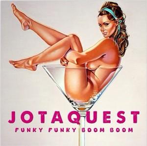 Capa do álbum 'Funky funky boom boom', do Jota Quest (Foto: Divulgação)