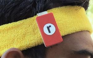 'Run-n-read' permite correr e ler livros em tablets (Foto: Divulgação/Weartrons)