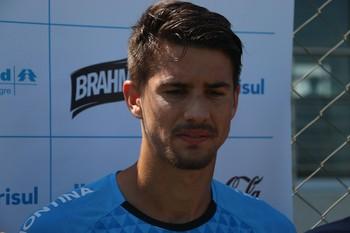 Everaldo Grêmio  (Foto: Eduardo Moura/Globoesporte.com)
