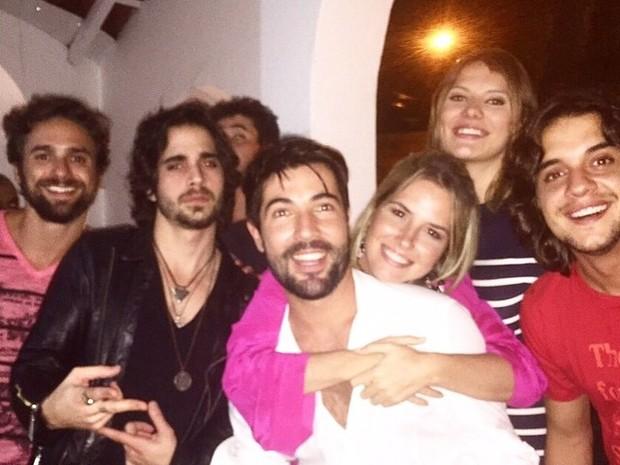Sandro Pedroso comemora aniversário com festa em São Paulo (Foto: Instagram/ Reprodução)
