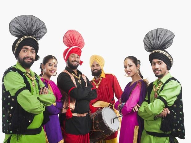 Com músicas e danças típicas, 'Bloco Bollywood' quer unir Brasil e Índia em SP (Foto: Divulgação: Bloco Bollywood)
