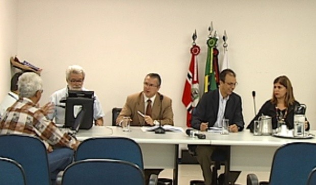 CEI que investiga irregularidades começou a ouvir representantes do Conselho. (Foto: Reprodução/ Tv Tem)
