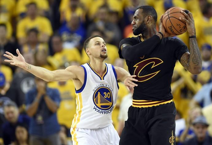 Golden State x Cleveland - final da nba jogo 7 - lebron james x stephen curry (Foto: Reuters)