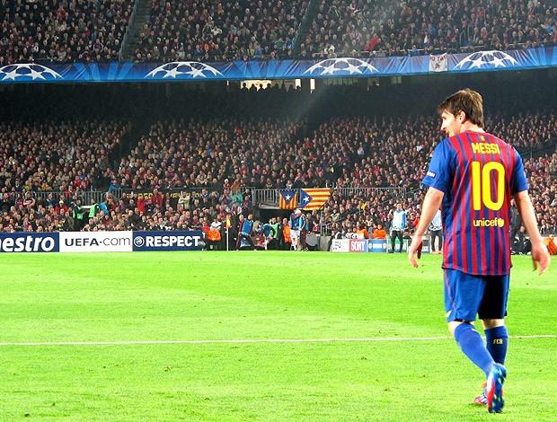 Messi jogo especial Barcelona (Foto: Cahê Mota / Globoesporte.com)