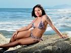 Descoberta na web, Rita Mattos, a Gari Gata, faz primeiro ensaio sensual