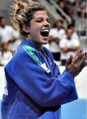Luana Pinheiro, judoca (Foto: Divulgação)