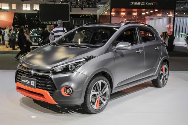 Hyundai HB20X JBL Concept no Salão do Automóvel 2016 (Foto: Marcos Camargo/Autoesporte)
