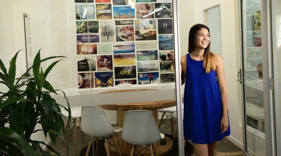 Melanie Perkins, fundadora do Canva (Foto: Divulgação)