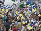 Papa Francisco chega à Praça da Revolução em Cuba para missa