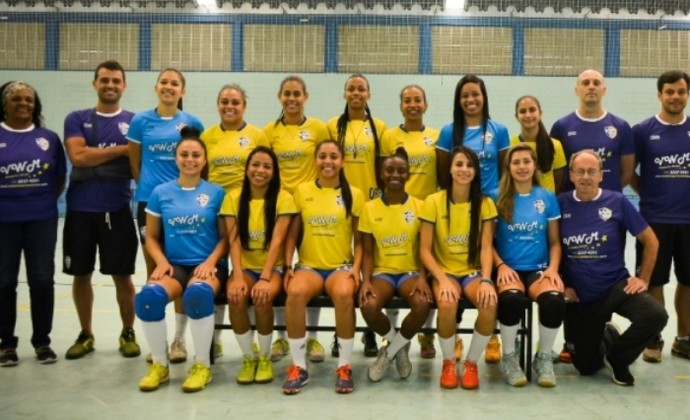 São José Futsal Feminino (Foto: Alex Santos)