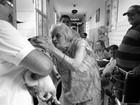FOTOS: ONG  leva cães para visitar asilos em Araraquara, SP