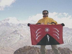 alpinista paraibano desaparecido Argentina (Foto: Reprodução)
