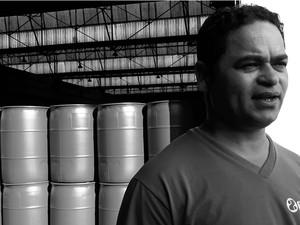 Deusorico Miranda, funcionário da Flaskô (Foto: Fernando Pacífico)