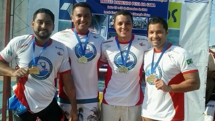 Em última prova de 2014 equipe do AP conquista 58 medalhas no Pará (Foto: Reprodução/Facebook)