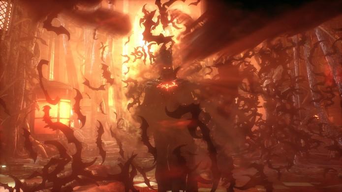Cena do final Knightfall Protocol (Foto: Divulgação/Warner)
