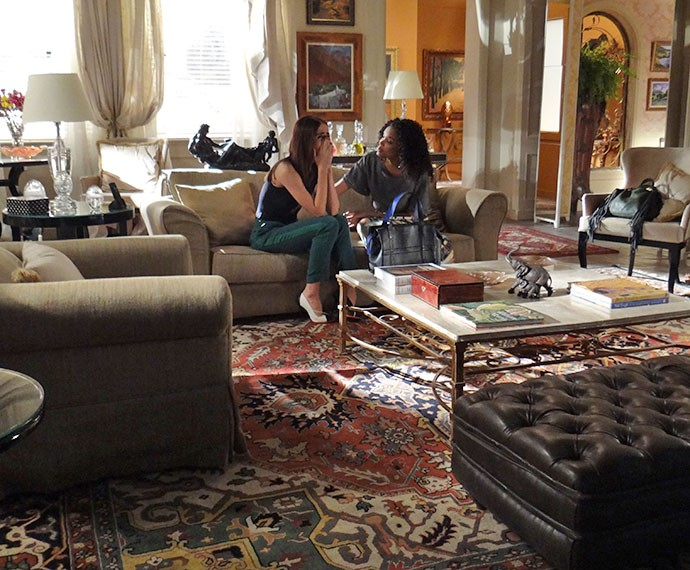 Margot chora ao lembrar dos planos que fez com Benjamin (Foto: Marcela Velloso/Gshow)