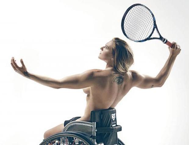 Jordanne Whiley, tenista (Foto: Sport Magazine/Reprodução)