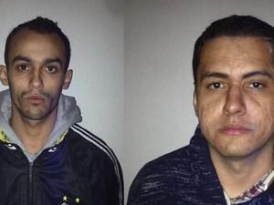 Suspeitos presos por morte de motoboy em São Carlos (Foto: Reprodução/EPTV)