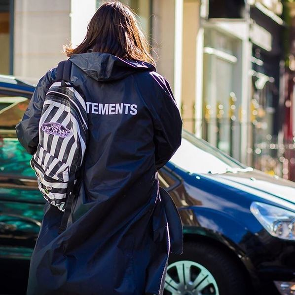 Vetements na London Fashion Week (Foto: Instagram/Reprodução)