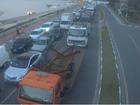 Nevoeiro paralisa travessia da balsa entre São Sebastião e Ilhabela